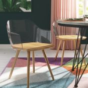 Loma Solid Wood Dining Chair (SET OF 2) - RRP £313.99