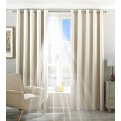 Eclipse Eyelet Blackout Thermal Curtains (Set of 2) - RRP £49.99