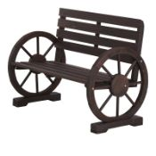 Stollings Wooden Traditional Bench -RRP £127.99