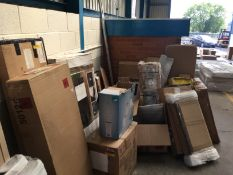 Quantity of odd items includeds stool pieces, Cupboard pieces etc