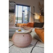 Halo Side Table with Storage - RRP £169.99