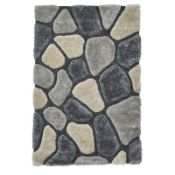 Colchester Hand Tufted Grey/Blue Rug - RRP £196.99