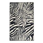 Baudette Zebra Black/White Rug - RRP £126.99