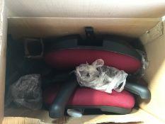 Mid Back Desk Chair Colour Chilli