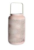 New Pink Spirograph Lantern