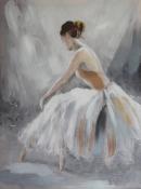 New Ballerina Neutral Wall Art