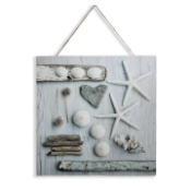 New x2 Found Beauty Canvas with Rope