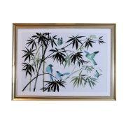 New Oriental Birds Framed Print