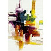 Steverson Yellow/Green/Purple Rug - RRP £89.99