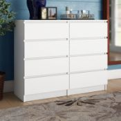 Abril 8 Drawer Chest - RRP £245.07