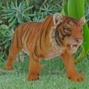 Large Standing Zebra and Tiger Ornament x RRP £54.99 Each