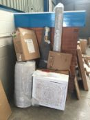 Mixture of items including Rugs, Furniture etc