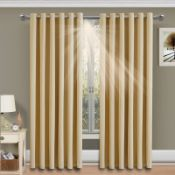 yelet Blackout Thermal Curtains - RRP £62.66