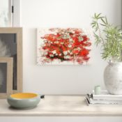 Almond Blossom Tree (1)' by Vincent Van Gogh Painting on Canvas - RRP £37.99