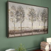 Avenue - Floater Frame Painting Print on Canvas - RRP £110.00