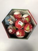 Box 14 Christmas baubles