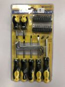 30pc Screwdriver bit set