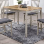 Brentwood Dining Table - RRP £135.99 TABLE ONLY