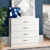 Audrina 4 Drawer Chest - RRP £95.99