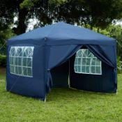 Sharp 2.5 x 2.5m Metal Pop-Up Party Tent - RRP £144.99