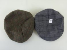 x 2 mens flat caps - RRP £15.00 each