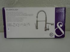 Cook & Lewis Bilbrough spring neck single lever kitchen mixer tap - RRP £157.00
