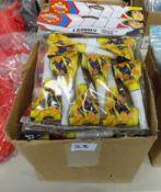BOX OF X10 8 BLOWOUTS & 8 FIREMAN SAM BLOWOUTS