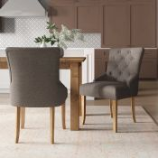 Needham Upholstered Dining Chair (Set of 2) - RRP £234.99