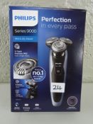 Philips Series 9000 Wet & Dry Men's Electric Shaver S9211/26 with Precision Trimmer & SmartClean Sys