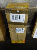 2 BOXES OF METAL STORAGE SHELVING