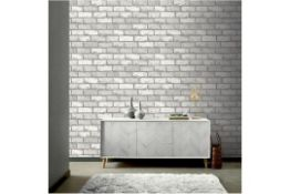 ROSEAU 10.05M X 53CM TEXTURED MATTE WALLPAPER ROLL - RRP £11.99