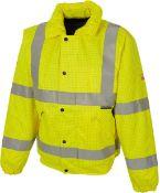 Hi Visibility Coat Size Medium - RRP £21.99