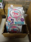 BOX OF APPROX 100 MY LITTLE PONY FOIL BALLOONS