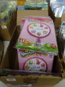 BOX OF APPROX 100 SHOPKINS FOIL BALLOONS
