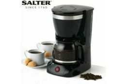 BRAND NEW SALTER DECO DRIP 1.25L 800W 10 CUP COFFEE MAKER - RRP £24.