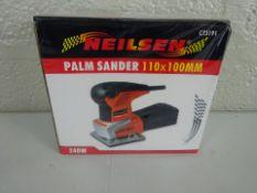BRAND NEW NEILSEN PALM SANDER (110 X 100MM)