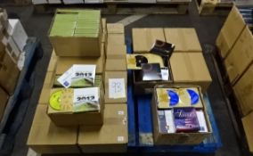 PALLET OF 2012, AMERICA AND MEDITATION CDS.