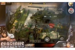 GLORIOUS MISSION ARMY SERVE AND PROTECT TOY
