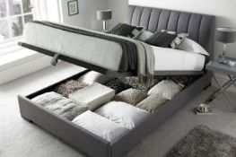 x1|Carpet Right 5ft Elephant Grey Lana Ottoman Bed Frame, Comes In 6 Boxes|RRP £749|