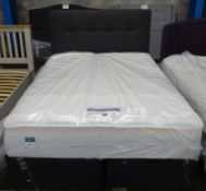 x1|Carpet Right Ex-Display 5ft Silentnight Windermere Ottoman Bed With Headboard |RRP £1269|
