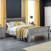 x1|Carpet Right 5ft Lydford Wooden Bed Frame Only, Comes in 3 Boxes|RRP £549|