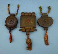 3 Reiseamulette, Tibet