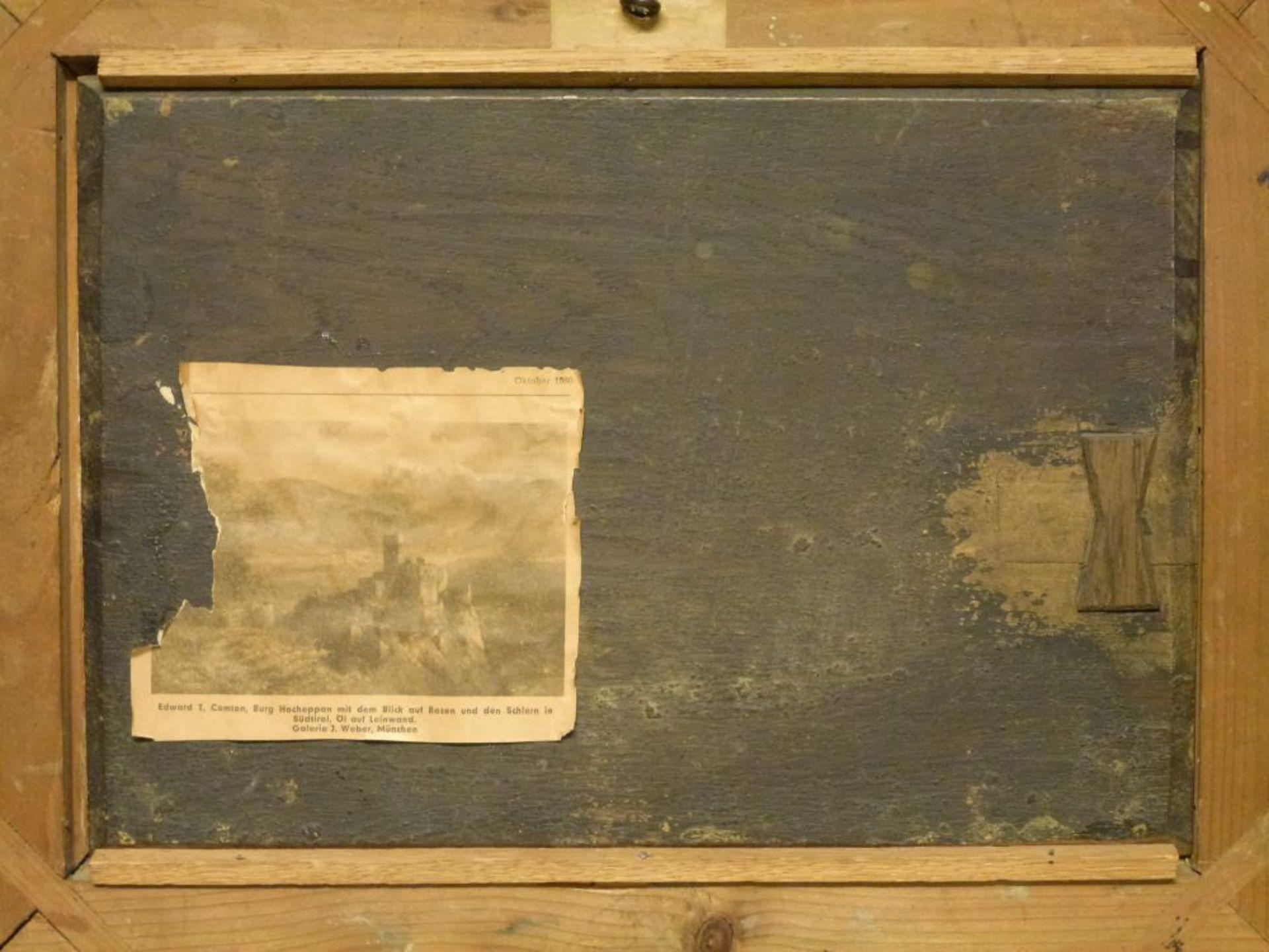 Auf der WeideGustav Jakob Canton, 1813-1885Öl/Eichenplatte, sign. G.Canton pinxit 1833, Kühe, Schafe - Bild 7 aus 7