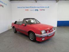 1986 Vauxhall Cavalier Cabriolet - 1796cc