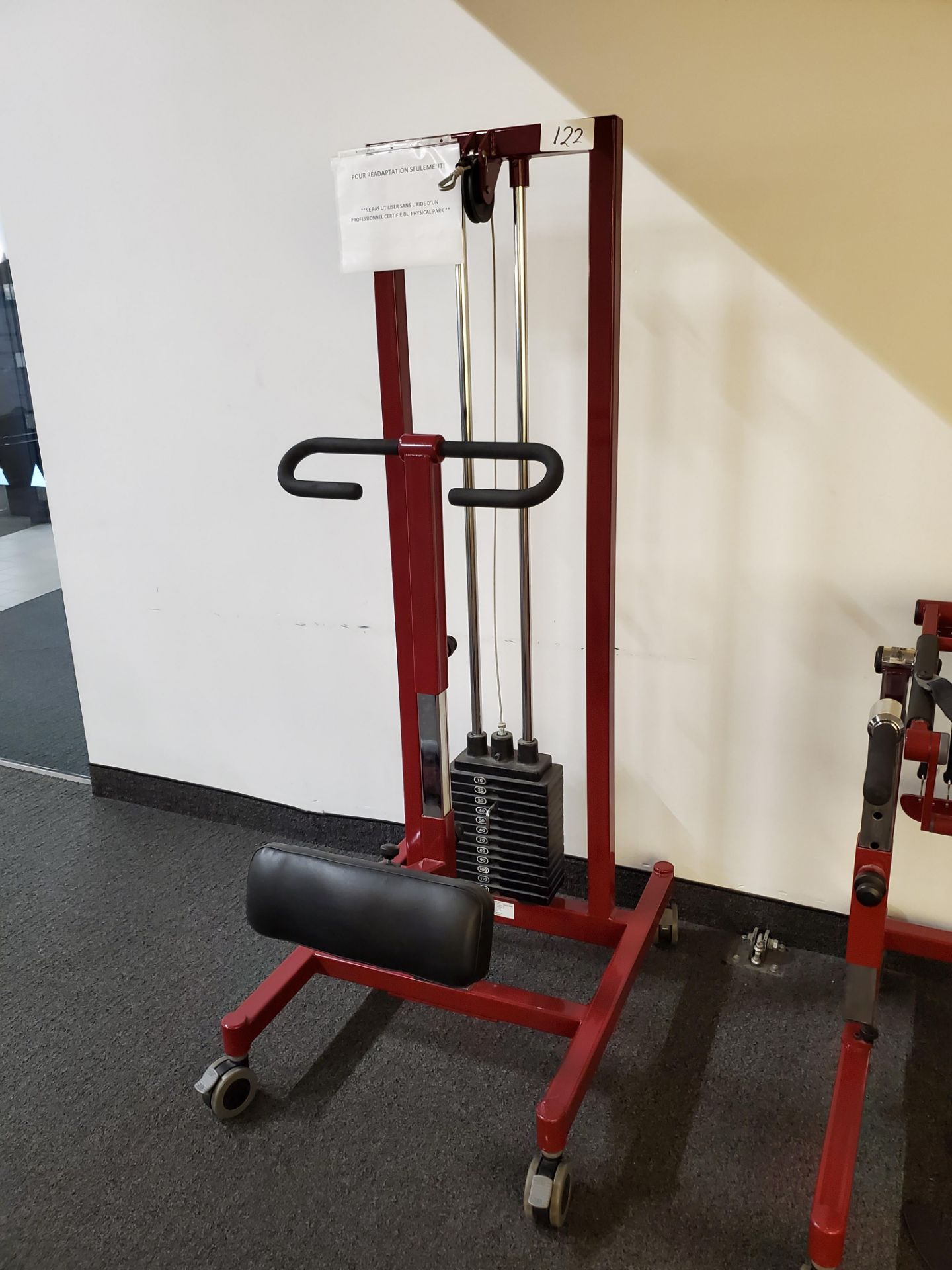 Lot 122 - NeuroGym E-STS-A Sit-To-Stand Trainer
