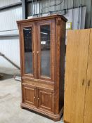 Wood Dining Hutch