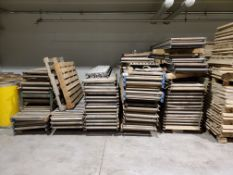 Lot of Assorted Conveyor Rollers