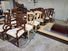 (6) Assorted Arm Chairs
