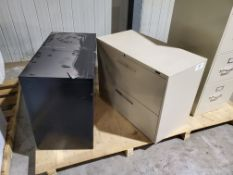 (2) 2-Drawer Filling Cabinets