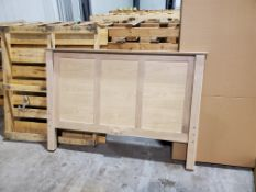 Full/Double Headboard, Footboard and Side Rails